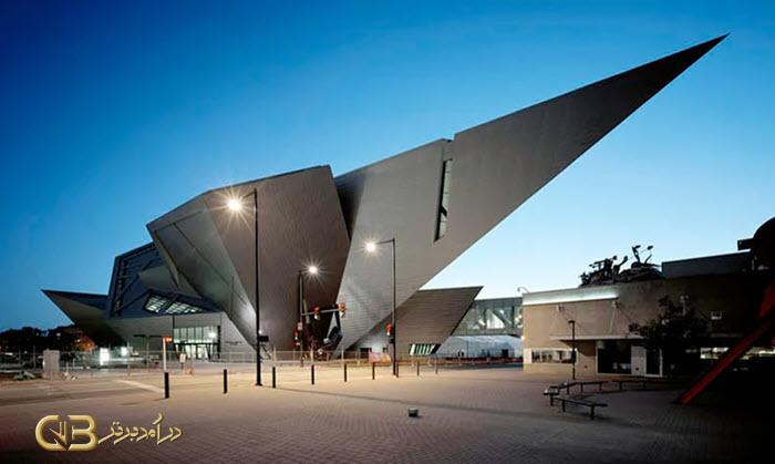 معماری موزه هنر دنور