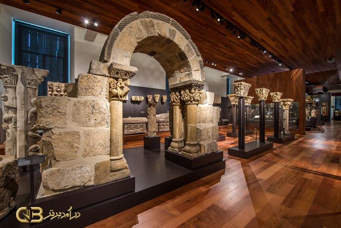معماری موزه ملی باستان شناسی