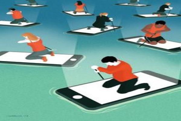 پاورپوینت بررسی اعتیاد به اینترنت در کودکان و نوجوانان و جوانان