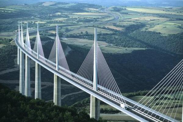 پاورپوینت نظری بر پل ها و انواع آن